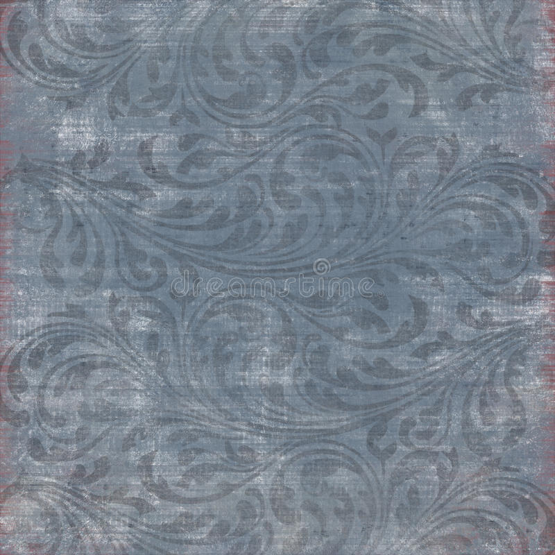 Distressed Ornament Background Stock Photography