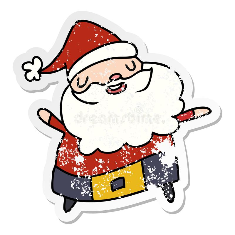 Father Christmas Images Free.Cartoon Kawaii Father Christmas Santa Claus Holidays