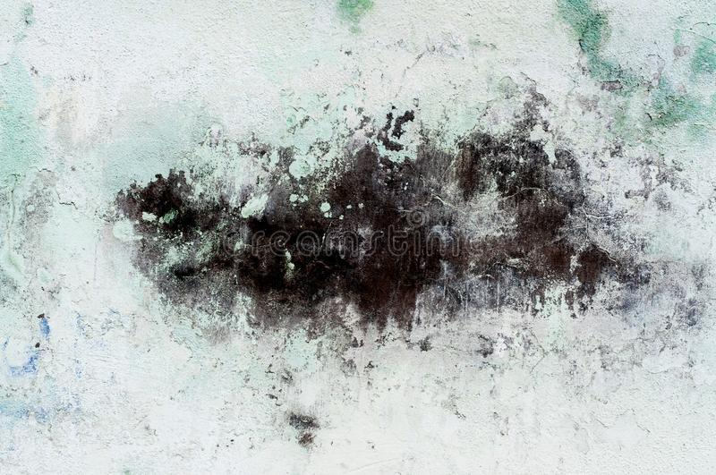 Messy Blot Texture. Distressed Texture. Messy Chalk Blot on a light color grunge plaster texture stock photos
