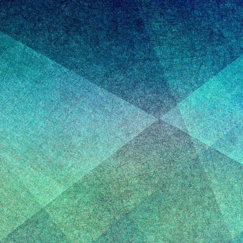 Distressed triangle shaped pattern background texture stock image