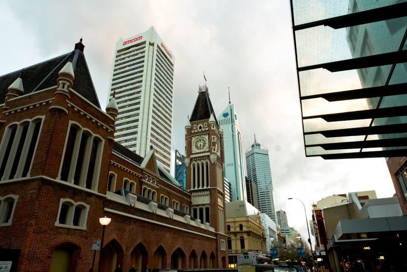 Distretto aziendale di Perth immagine stock