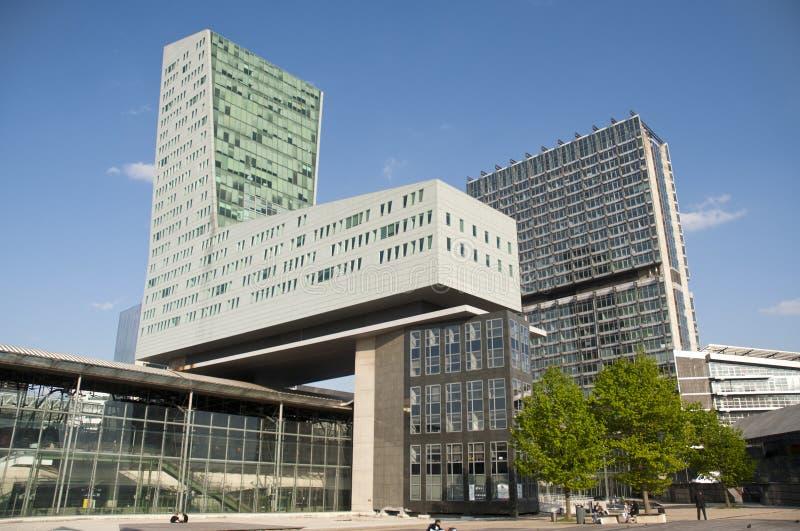 Distretto aziendale Lille - in Francia fotografie stock