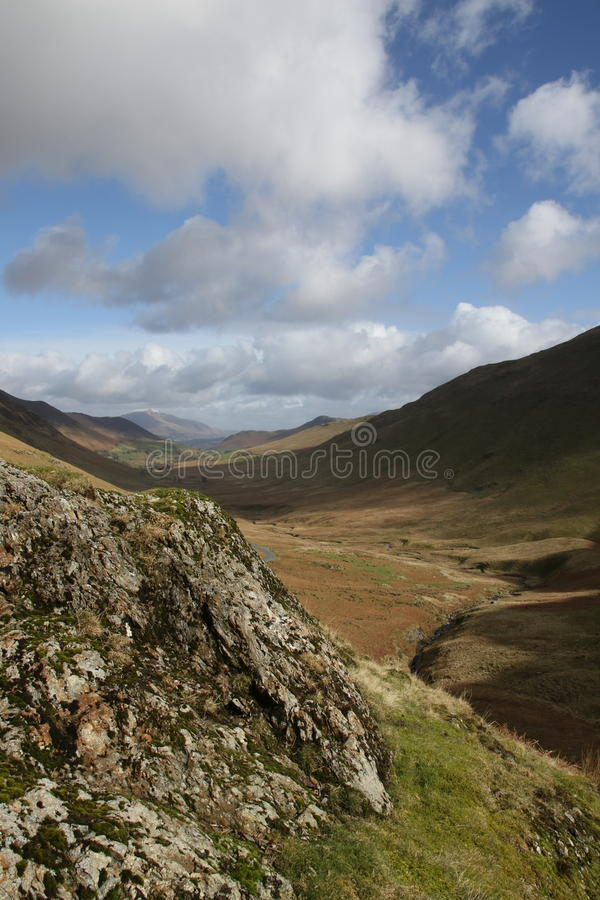 Distretto Cumbria Inghilterra del lago fotografia stock libera da diritti