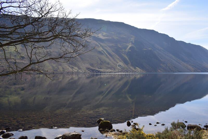 Distretto del lago immagini stock