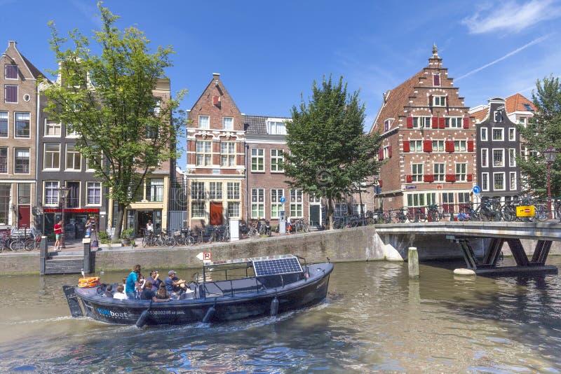 Distretto della luce rossa di Amsterdam immagini stock libere da diritti