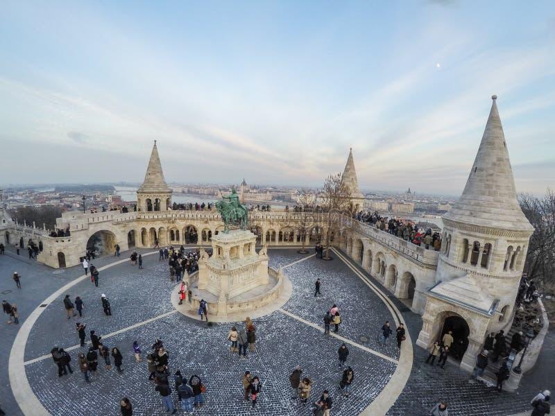 Distretto di Buda Castle fotografie stock libere da diritti
