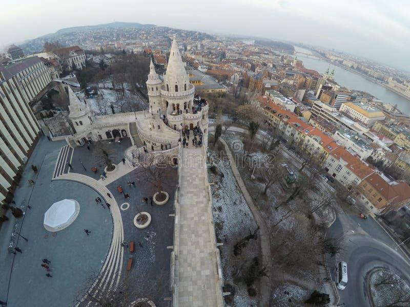 Distretto di Buda Castle immagine stock