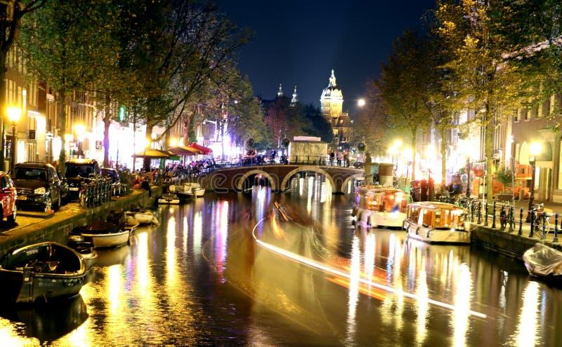 Distretto di luce rossa Amsterdam immagine stock