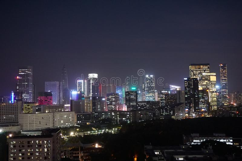 Distretto di Nanshan di Shenzhen immagini stock libere da diritti