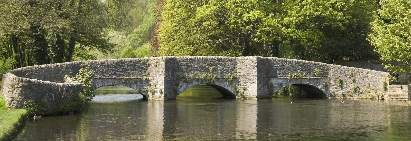 Distretto di punta dell'Inghilterra Derbyshire immagine stock