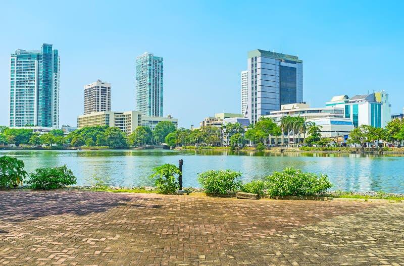 Distretto moderno di Colombo immagini stock libere da diritti