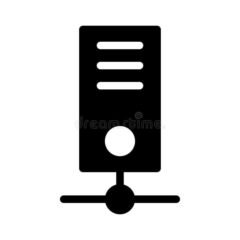 Distribuci?n del icono plano del vector del glyph libre illustration