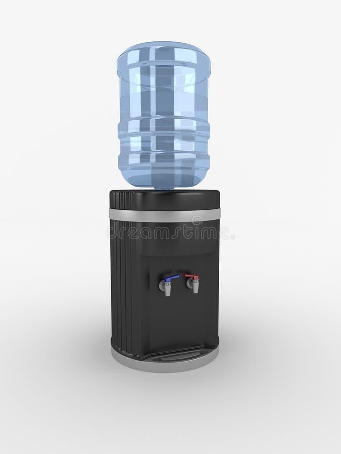 Distribuidor da água do escritório fotografia de stock royalty free