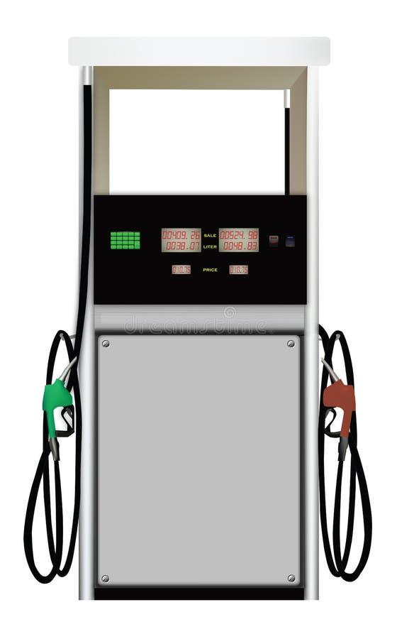 Distribuidor do combustível ilustração do vetor