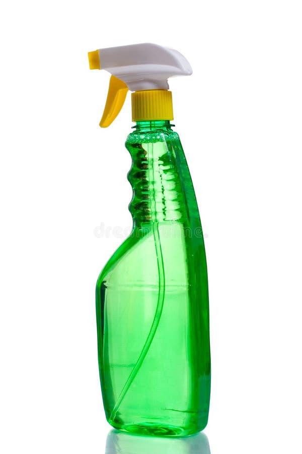 Distribuidor plástico verde fotografia de stock