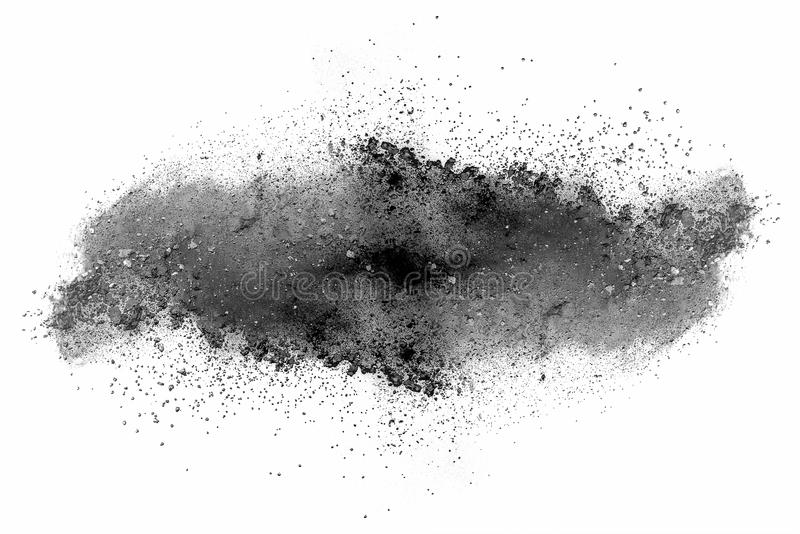 Distributed powder royalty free stock image