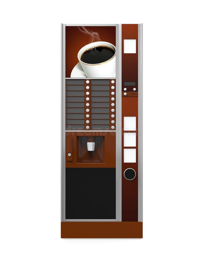 Distributeur automatique de café illustration de vecteur