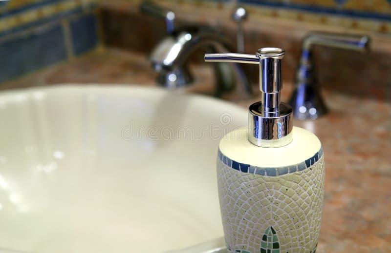 Distributeur de savon images libres de droits