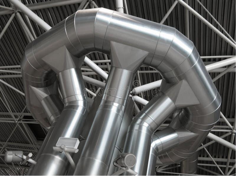 Distributie van airconditioner en ventilatie royalty-vrije stock fotografie