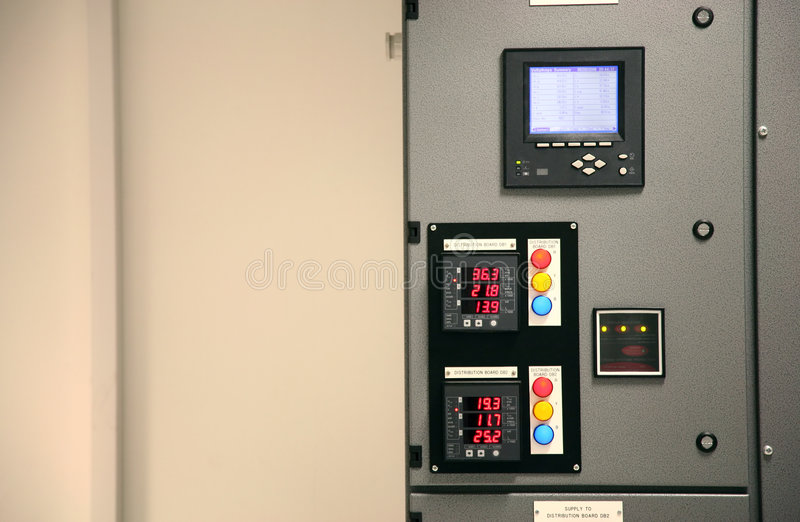 Distribution Board stock photography