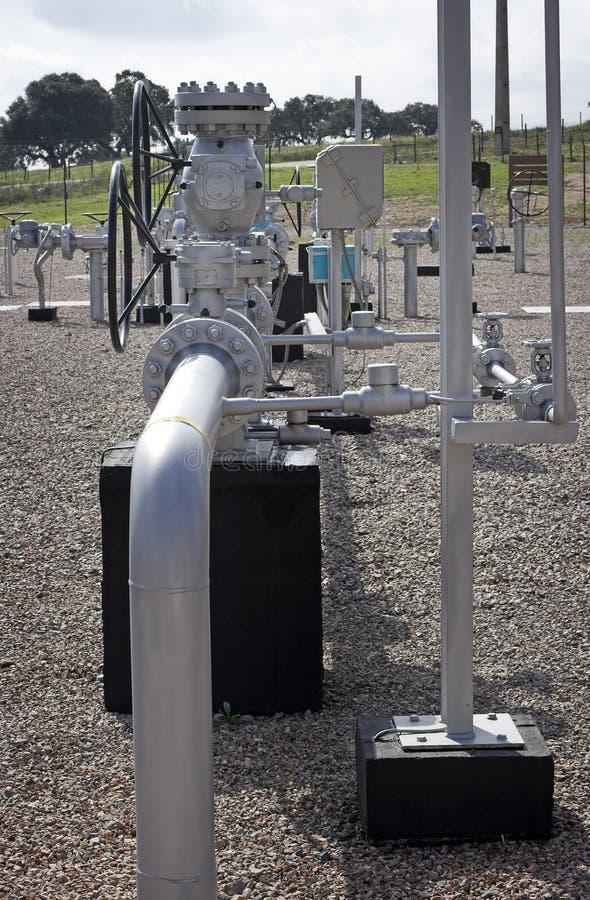Distribution de gaz naturel photos stock
