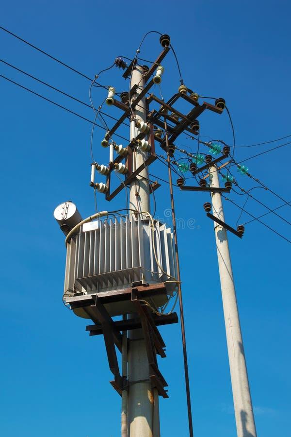 Distribution de l'électricité photo libre de droits