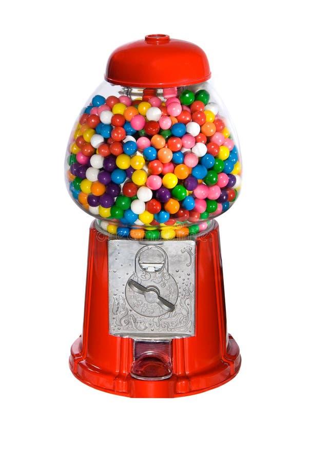 Distributore automatico di Gumball fotografie stock