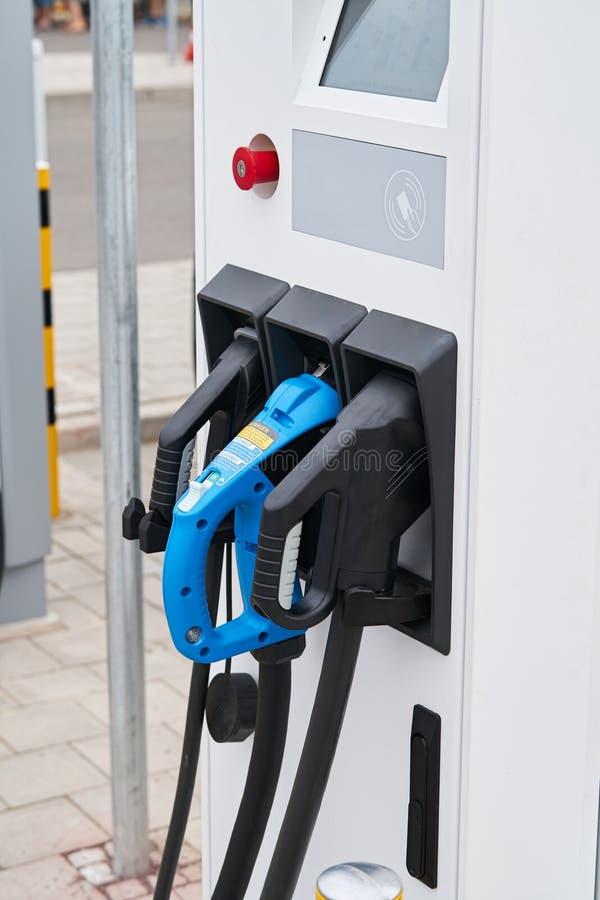 Distributore di benzina di potere fotografie stock