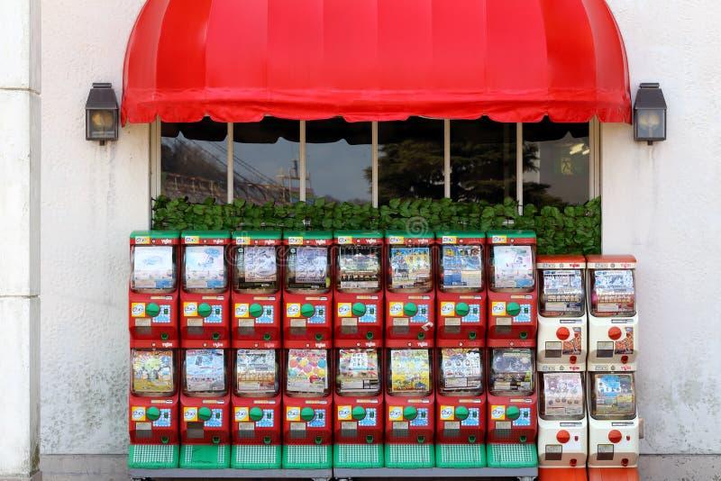 Distributori automatici del giocattolo fotografia stock