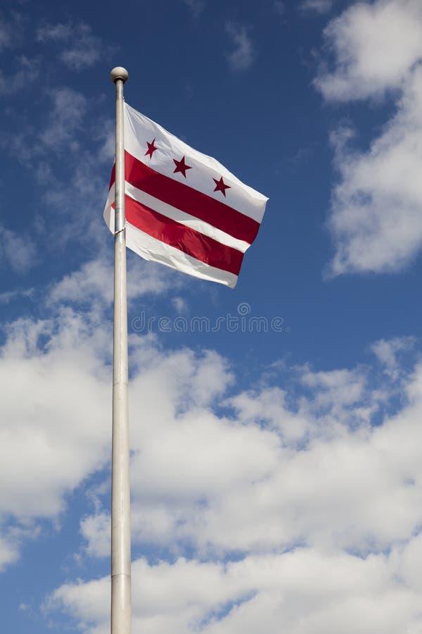 District of Columbia (Washington, DC) Flag stock photo