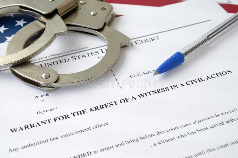 What Is An Arrest Warrant?