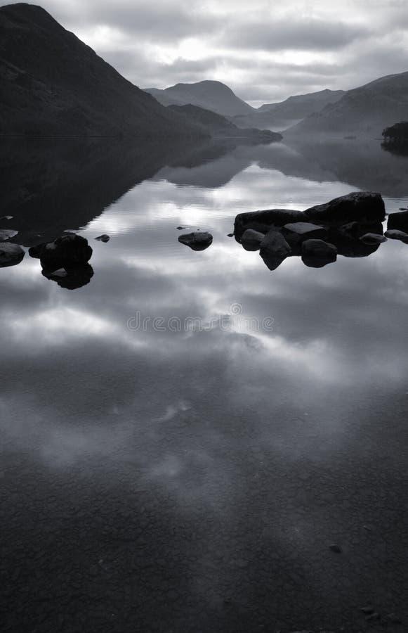 District de lac Ullswater, lac photos libres de droits