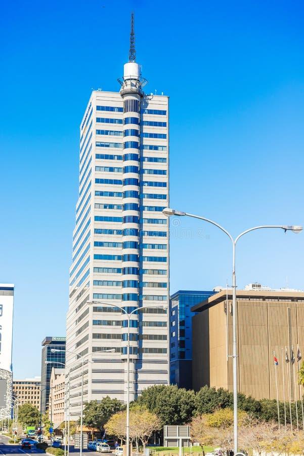 District des affaires Afrique du Sud de Dowtown de ville de Cape Town photographie stock libre de droits