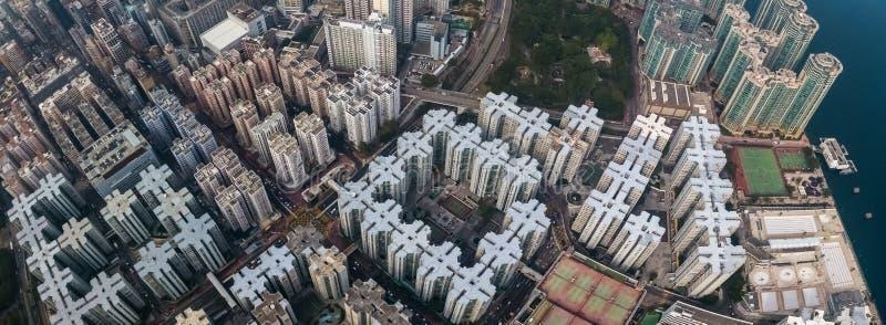 District des affaires de Hong Kong photos stock