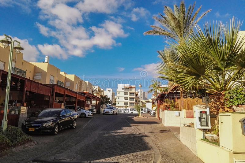 District in Eilat stock photo