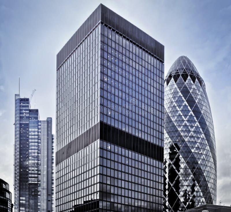 District financier photographie stock