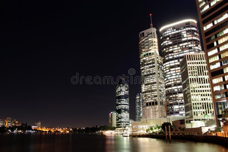 District financier de Brisbane images libres de droits