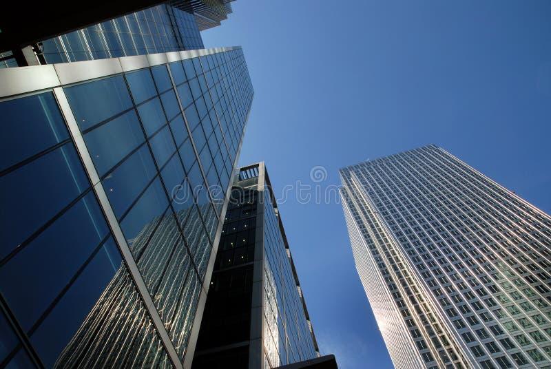 District financier de Londres photos libres de droits