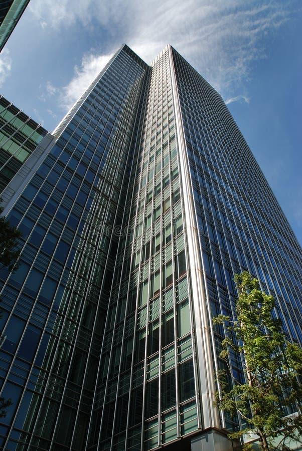 District financier de Londres images libres de droits