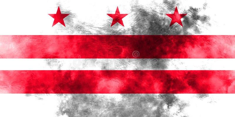 District van van de de stadsrook van Colombia de vlag, Washington, Maryland en V vector illustratie