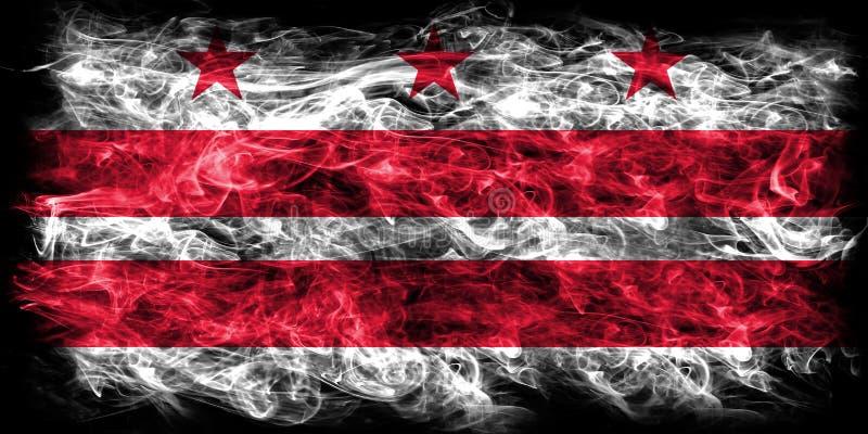 District van van de de stadsrook van Colombia de vlag, Washington, Maryland en V stock illustratie