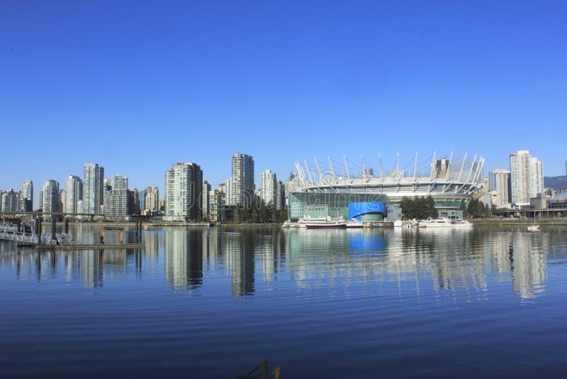 Districto de la hospitalidad de Vancouvers imagen de archivo
