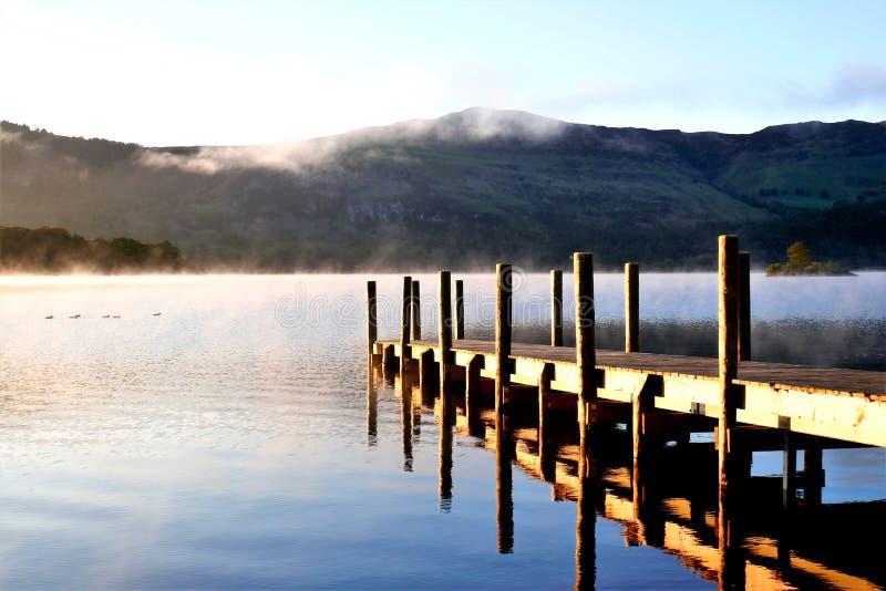 Districto del lago, Cumbria, Reino Unido imagen de archivo