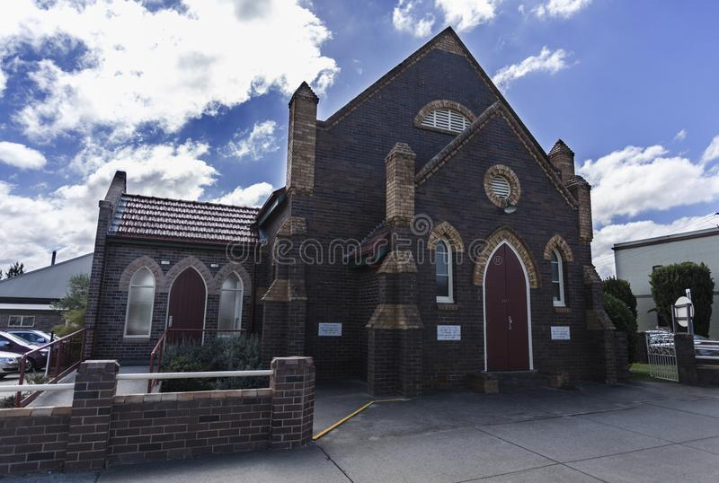 Distrito Baptist Church de Armidale imagem de stock royalty free