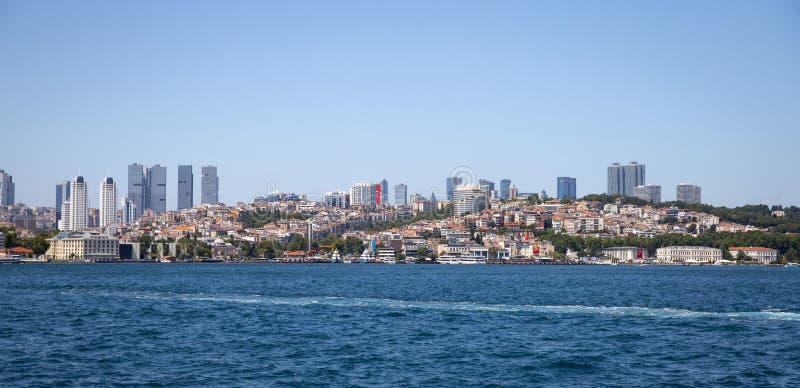 Distrito de Besiktas na cidade de Istambul, Turquia fotos de stock royalty free