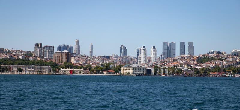 Distrito de Besiktas na cidade de Istambul, Turquia imagem de stock royalty free