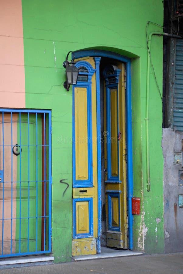Distrito de Boca do La em Buenos Aires, Argentina. fotos de stock royalty free