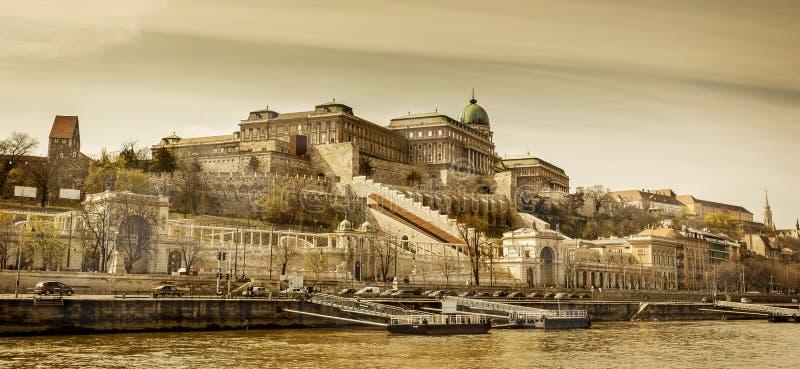 Distrito de Buda de Budapest, Hungria fotografia de stock royalty free