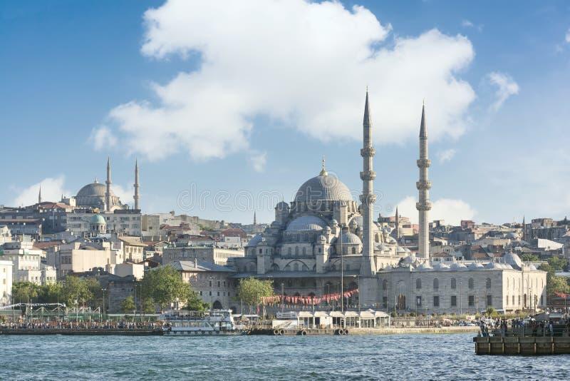 Distrito de Eminonu, Istambul, Turquia imagens de stock