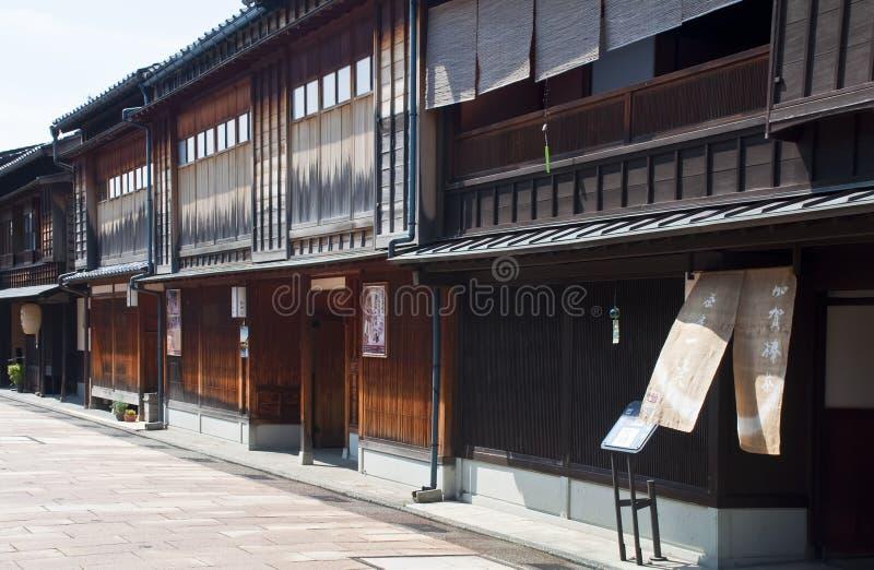 Distrito de Gion, Japão fotografia de stock